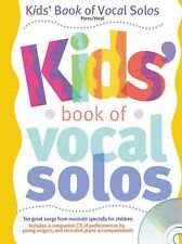 Kids Book Of Vocal Solos Learn to SING CHILDRENS EASY PIANO PVG Music Book SONGS