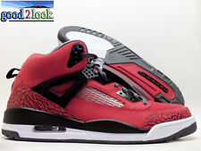 "NIKE JORDAN SPIZIKE ""TORO BRAVO"" GYM RED/BLACK-GREY SIZE MEN'S 14 [315371-601]"