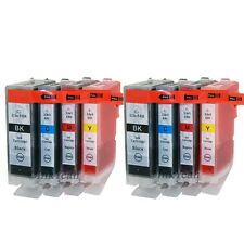 8 pack BCI-3e BCI-6 ink cartridge for Canon Pixma ip3000 i550 i560 i850 i6500