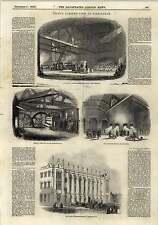 1843 Sword Grinding Works Birmingham Proving House Rolling Mail Engraving