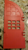Vintage Ghostbusters Firehouse Door right side Fire house