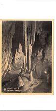 BF17531 la grande draperie  grottes de han  belgium  front/back image