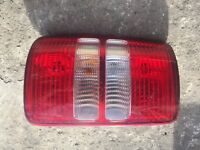 CADDY 1.6 TDI N/S/R PASSANGER SIDE REAR LIGHT 2K0945111C 2011 TO 2014.
