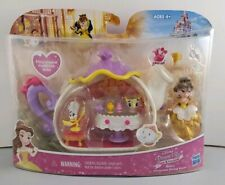 New Disney Princess Little Kingdom Belle's Enchanted Dining Room Beauty & Beast