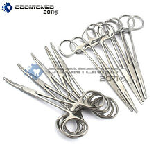 "50 Set Kelly Hemostat Locking Forceps 10 Pieces Each 5.5"" Surgical Instruments"