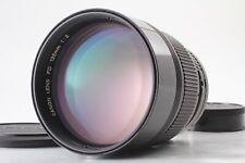 【 EXC + 5 】 Canon Neu Fd Nfd 135mm f2 Telefoto Mf Objektiv Aus Japan 248