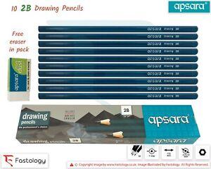APSARA 12B 11B 10B 9B 8B 6B 5B 4B 3B 2B B HB F H 2H 3H 4H 5H 6H Graded Pencils