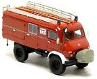 BoS 87786 MB Mercedes Benz Unimog S 404 Feuerwehr LF 8 neutral rot LKW 1:87 H0