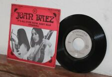 Ep joan baez - It's all over now, baby blue & stewball