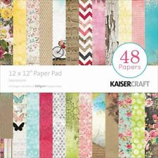 Kaisercraft Expressions Paper Pad 12x12 48 Pages - Nini's Things