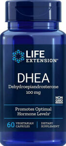 D H E A  HEALTHY AGING DIETARY SUPPLEMENT 100 Capsule 60mg  LIFE EXTENSION