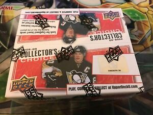 NHL 2008-09 Upper Deck COLLECTOR'S CHOICE Sealed BOOSTER BOX | 1 BOX | RARE