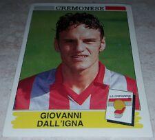 FIGURINA CALCIATORI PANINI 1994/95 CREMONESE DALL'IGNA ALBUM 1995