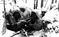 6x4 Gloss Photo ww4F7D World War 2 Pictures Finlande