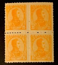 Venezuela Stamps 97 Block 4 MNHOG B7/25 Great Piece