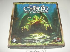 Call Of Cthulhu The Card Game Base Core Set LCG Fantasy Flight 2008 COMPLETE HTF