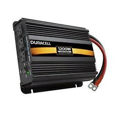 Duracell Power DRINV1200 Black High Power Inverter, 1200 W