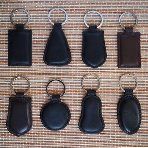 Real Leather Key Ring Leather Key Chain Genuine Leather Keyring  Key Holder