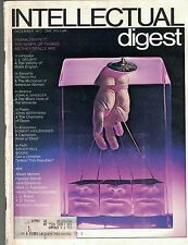 Intellectual Digest Magazine December 1972 Validity of Black English