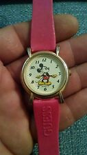 Vintage Micky Mouse Quartz Watch Moveable hands for repair