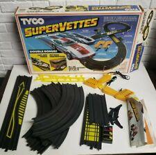 Tyco Super Vettes Racing Set Circa #T6687 1983
