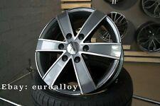 4x 16 inch 6x130 1250KG Mercedes Sprinter VW Crafter gray wheels gray