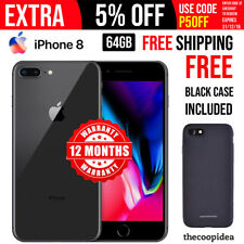 Apple iPhone 8 - 64GB Space Grey (Unlocked) A1863 (CDMA + GSM) + Free Shipping