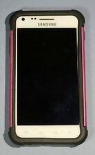 Samsung Galaxy S II SPH-D710/ 16GB White (Sprint) Smartphone/ Pink & Black