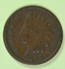 US Indian Head Cents Circulated Price per Each Coin 1897 or 1898 or 1899 photos