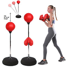 5Star Boxing Punching Speed Ball Boxing Bag Anti Stress Fitness + Boxing Gloves