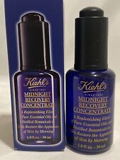 KIEHL'S Midnight Recovery Concentrate 1oz/30ml Fresh New In Box. $49 Retail.