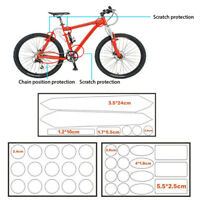 MTB Road Bicycle Frame Decal Protector Anti-Scratch Chainstay Film Beamy Sticker