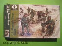 1:72 Waterloo1815 #031 WKII US Gebirgsjäger Mountain Troops Esel Donkey