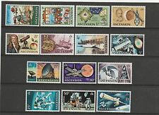 Ascension 1971 Defs ( Space ) set UM SG 135/148