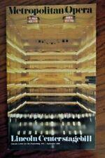 New ListingAmerican Ballet Theatre Stagebill 1985 Metropolitan Opera Baryshnikov Giselle