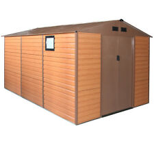 Habit box casetta casa doppio spessore lamiera 340x382xh225cm forest xxl-plus