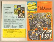 CGB Our World Illustrated 21 * GOLD and Adventure * George R. Evans * EPL * z2