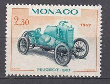 TIMBRE MONACO NEUF N° 721 **  VOITURE DE VAINQUEURS GRAND PEUGEOT 1910