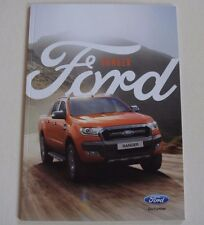 Ford . Ranger . Ford Ranger . November 2017 Sales Brochure