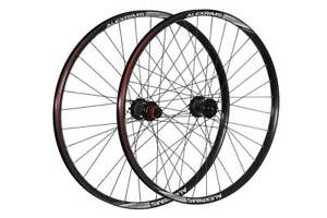 Pro-Build Wheels Front Tubeless Ready DH Wheel Alex/Chosen With 20 MM Axle Black