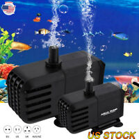 Home Pond Flow Water Pump Aquarium Fish Tank Aquarium Glass Box Submersible Pump