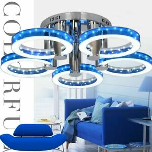 Colorful LED Chandeliers Lights Equisite Home Lampshades Fixture Decors Luxuries