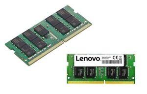 Genuine Lenovo ThinkPad 8GB 16GB DDR4 2400MHz ECC SoDIMM Memory 4X70Q27989