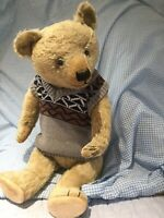"Antique  Beautiful Big 24"" Chiltern Teddy Bear 1920/30"