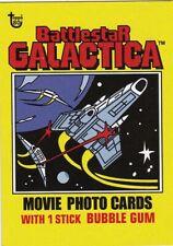 2018 Topps 80th Anniversary Wrapper Art  BATTLESTAR GALACTICA Movie Photo Card