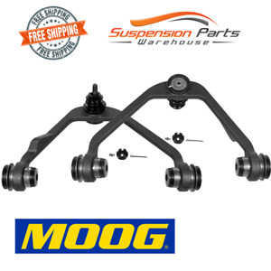 Moog Suspension 2 Control Arm Front  Upper For RWD Ford Expedition F-250 F-150