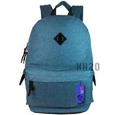 Backpack Rucksack Large Big School Travel Bag Sport Gym Boys Girls Men Ladies Blue Teal
