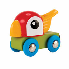 Hape E3808 Sifflement Parrot moteur en bois train Toddler Enfants Âge 18m+