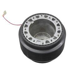 Fits 92-95 Honda Civic Black Aluminum 6 Hole Steering Wheel Hub Adapter Boss Kit