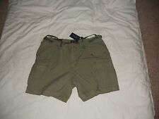NWT POLO RALPH LAUREN WOMENS CARGO SHORT IN OLIVE SIZE 6